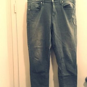 Mossimo Green Jeans  Sz 16